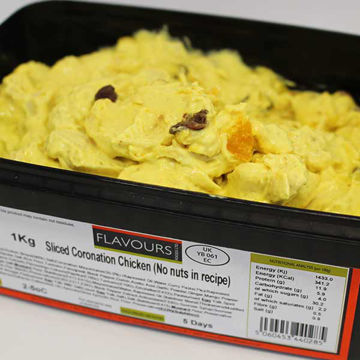 Picture of Sliced Coronation Chicken Sandwich Filling (1kg)