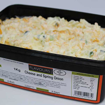 Picture of Cheese & Spring Onion Sandwich Filling (1kg)